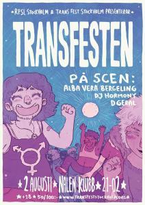 Poster Transfesten 2017