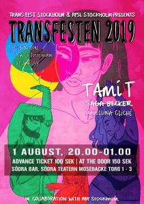Transfesten 2019 poster