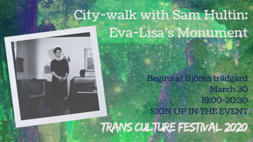 Eva-Lisa city-walk march 30 2020